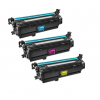 HP Compatible 648A Color Toner Cartridges