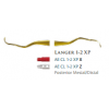 Langer Curette - DE 1-2 XP (3/8) Stainless Steel